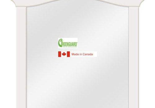 Natart Natart Belmont Mirror In French White