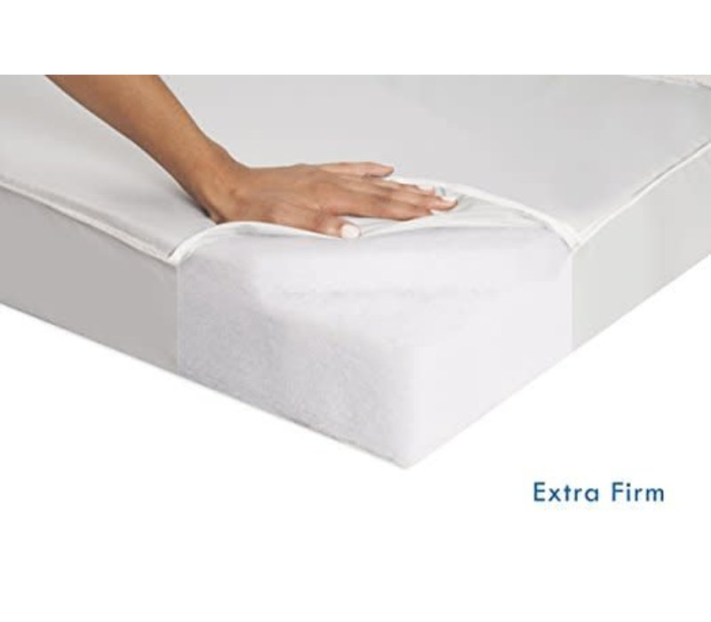 DaVinci 100% Non-toxic Complete Portacrib Extra-Firm Fiber Crib Mattress with Hypoallergenic Waterproof Cover