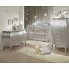Natart Natart Alexa Crib With Tufted Panel, Dresser, And Lingerie Chest