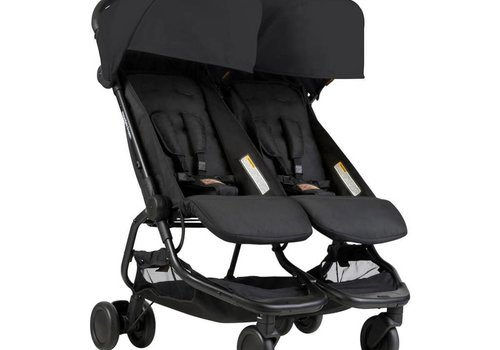 Mountain Buggy 2018 Mountain Buggy Duo Nano Travel Double In Black