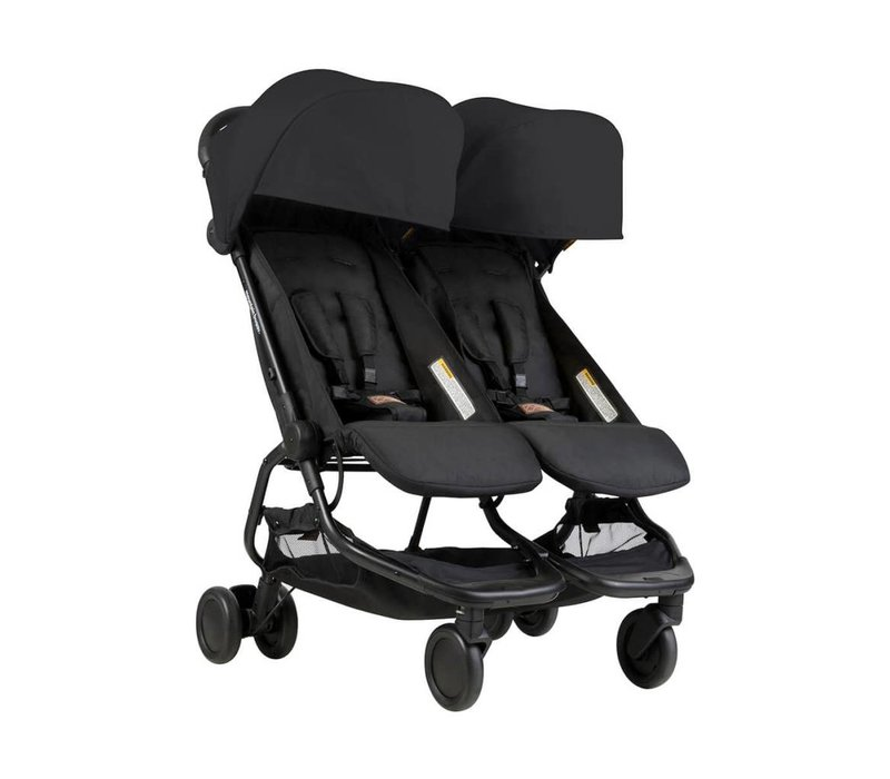 Mountain Buggy Duo Nano Travel Double In Black