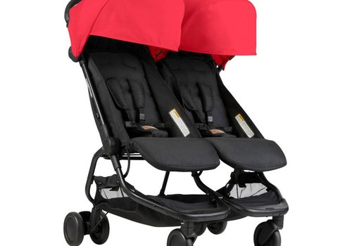 Mountain Buggy 2018 Mountain Buggy Duo Nano Travel Double In Ruby