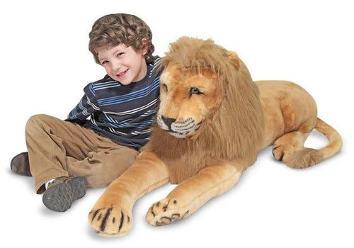 Melissa And Doug Melissa And Doug Lion Giant Stuffed Animal