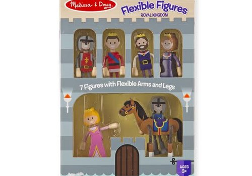 Melissa And Doug Melissa And Doug Wooden Flexible Figures - Royal Kingdom