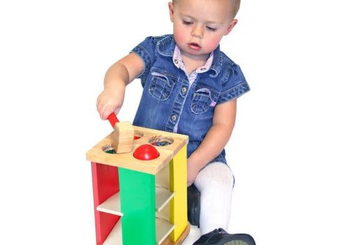 Melissa And Doug Melissa And Doug  Motor Skills Pound & Roll Tower