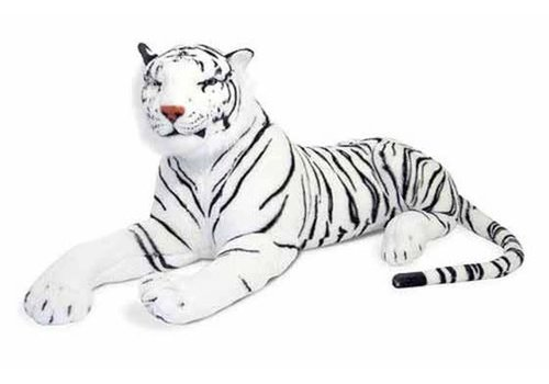 Melissa And Doug Melissa And Doug White Tiger Giant Stuffed Animal