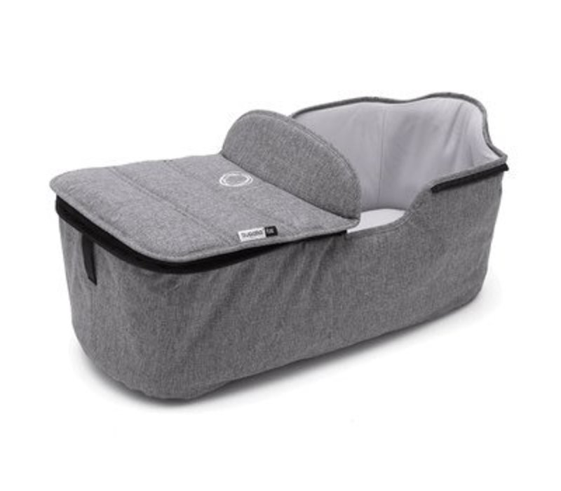 Bugaboo Fox Bassinet Tailored Fabric Set In Grey Melange