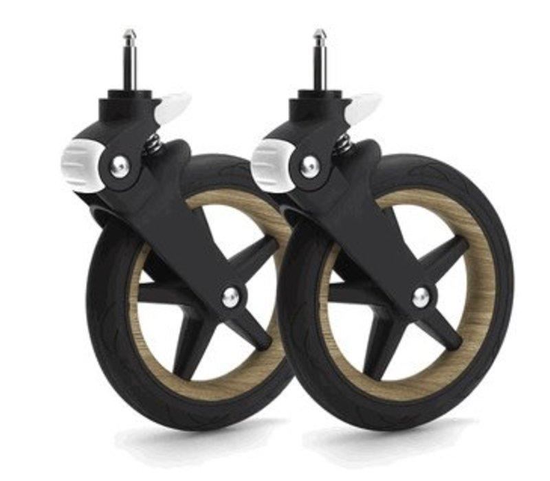 Bugaboo Fox Wheel Caps In Wood