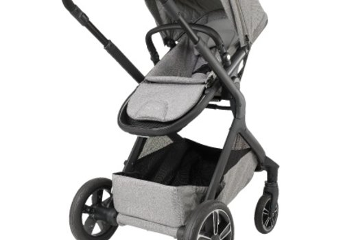 Nuna Nuna Demi Grow Stroller In Frost With Ring Adapter