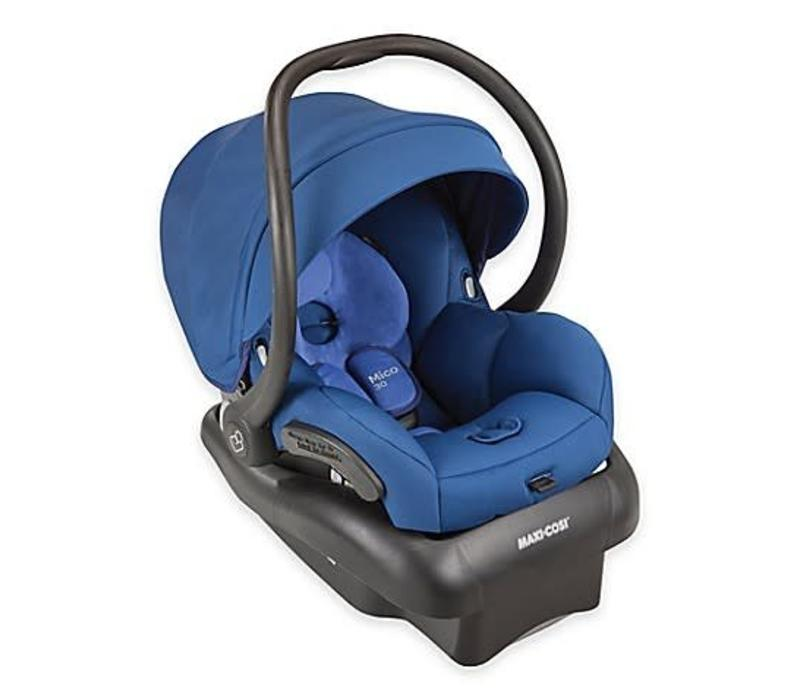 2018 Maxi Cosi Mico 30 Infant Car Seat With Base In Vivid Blue
