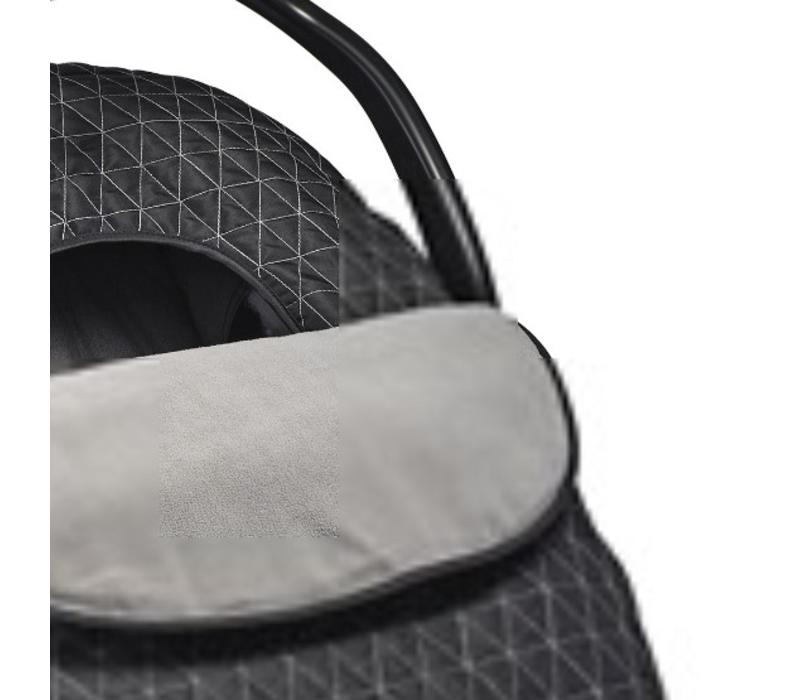 JJ Cole Car Seat  Cover In Black Triangle Stich