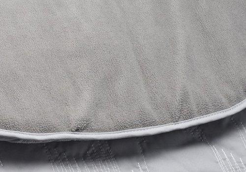 JJ Cole Collections JJ Cole Car Seat  Cover In Grey Herringbone Stitch
