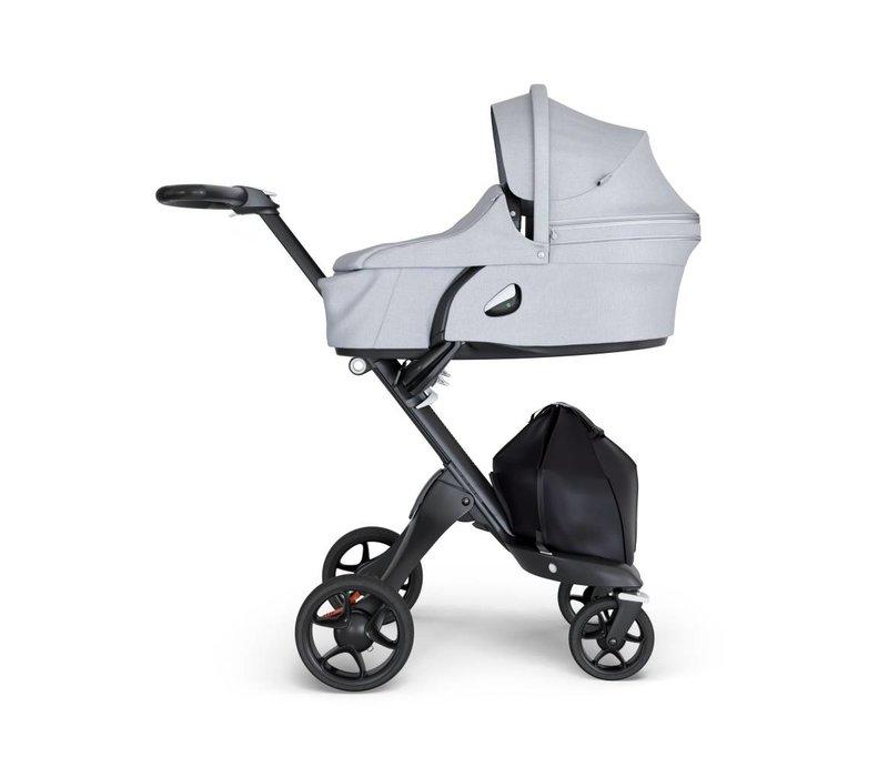 2019 Stokke Xplory Carrycot Grey Melange (Stroller Frame Not Included)