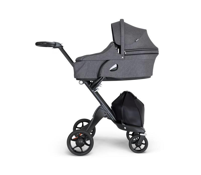 2018 Stokke Xplory Carrycot Black Melange (Stroller Frame Not Included)