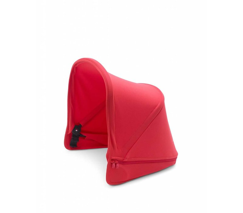 Bugaboo Donkey2 Extendable Sun Canopy In Neon Red (BOX 3)