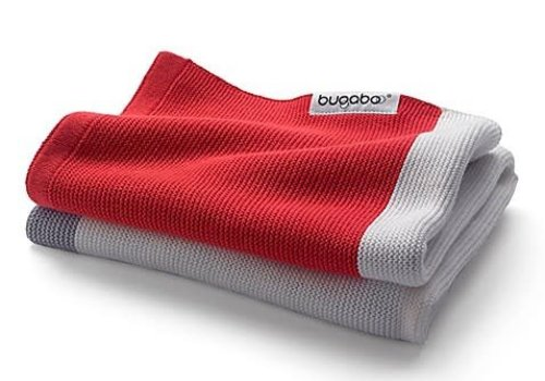 Bugaboo Bugaboo Light Cotton Blanket In Neon Red