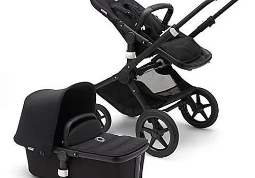 Bugaboo Bugaboo Fox complete In Black- Black