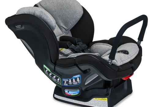 Britax Britax Boulevard Clicktight Anti Rebound Bar (ARB) Convertible Car Seat In Nanotex