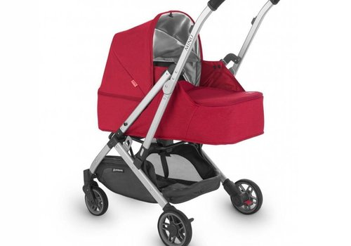 UppaBaby 2018 Uppababy Minu From Birth Kit DENNY (Red Mélange/Silver/Black Leather)