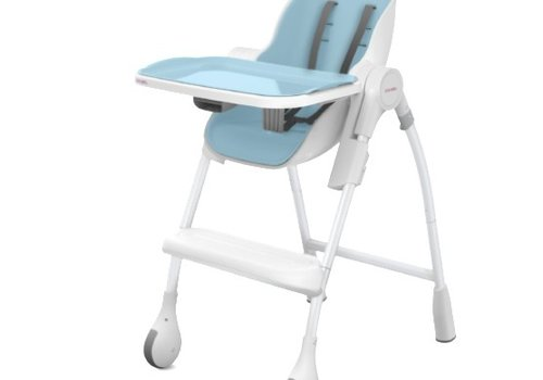 Oribel Oribel Cocoon High Chair In Blue Rasberry