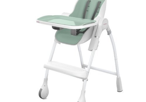 Oribel Oribel Cocoon High Chair In Green Pistachio