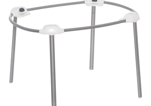 Halo Halo Bassinest Portable Stand - Light Silver