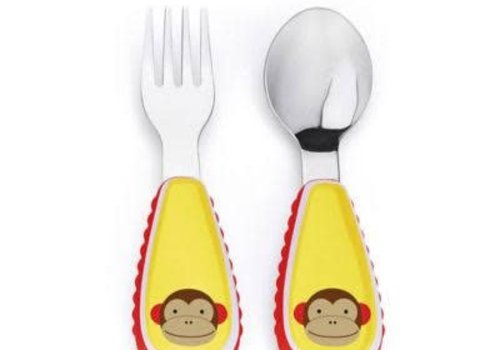 Skip Hop Skip Hop Zoo Utensil Set Monkey