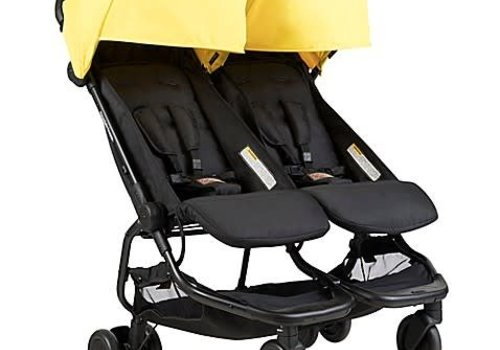 Mountain Buggy Mountain Buggy Duo Nano Travel Double In Cyber