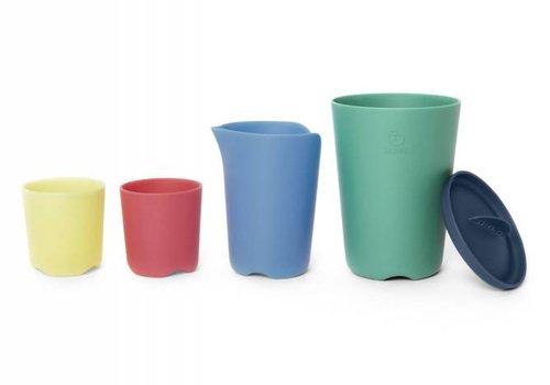 Stokke Stokke Flex Bath Toy Cups In Multi Colour
