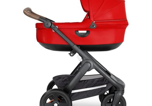 Stokke 2020 Stokke Crusi And Trailz Carrycot In Red