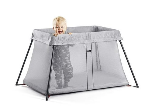 Baby Bjorn BABYBJORN Travel Crib Light In Silver