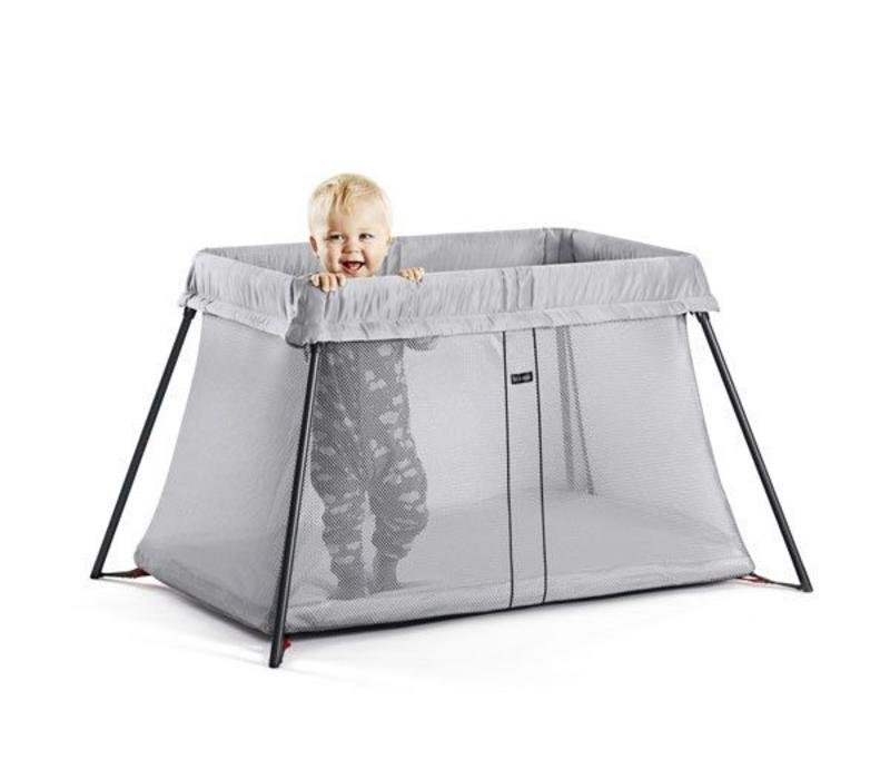 BABYBJORN Travel Crib Light In Silver