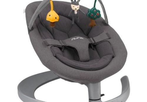 Nuna Nuna Leaf Grow Baby Seat Lounger and Swing - Iron