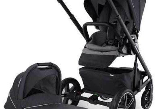 Nuna Nuna Mixx Stroller In Jett With Bassinet