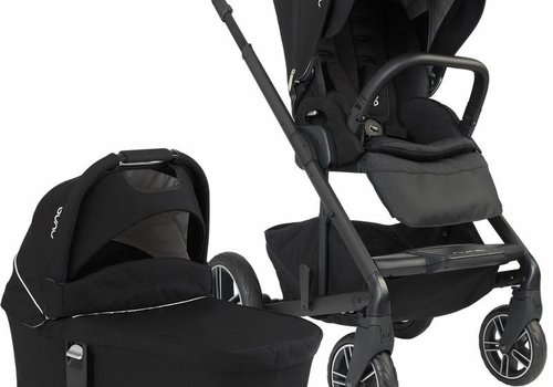 Nuna Nuna Mixx2 Stroller And Bassinet Set In Caviar