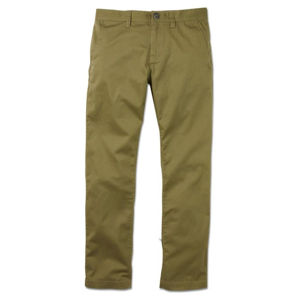 1ed64d8a VOLCOM - FRICKIN MODERN STRETCH CHINO PANT - Boutique ROOKERY skateshop