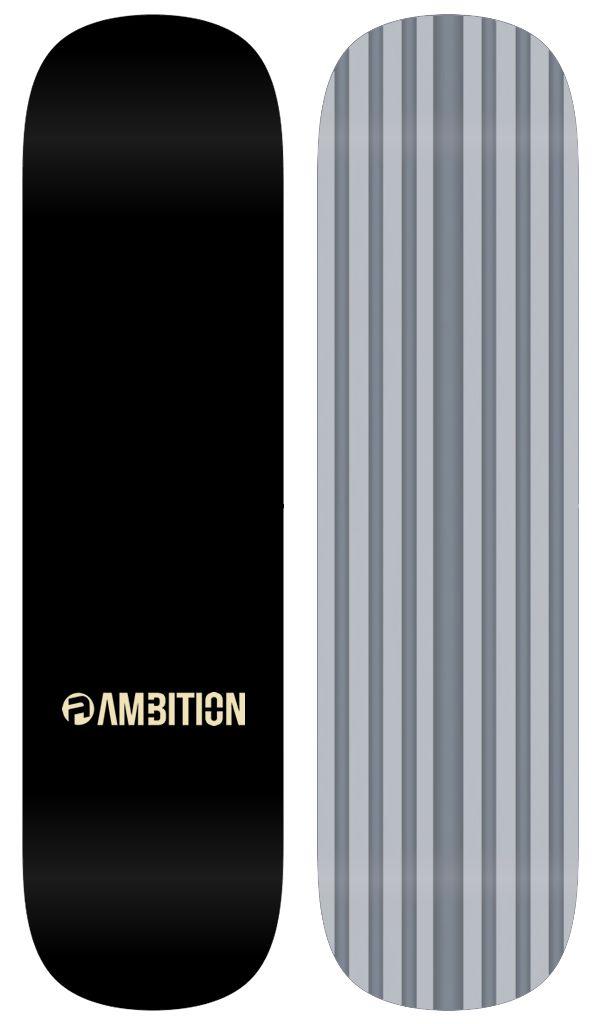 AMBITION AMBITION - TEAM CHARCOAL SNOWSKATE