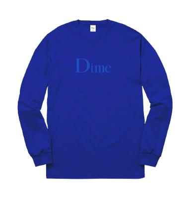 DIME DIME - CLASSIC LOGO L/S TEE