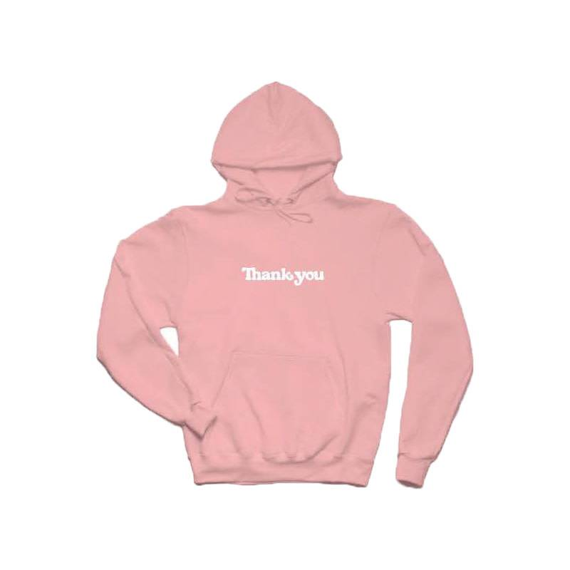 THANK YOU THANK YOU - THANK YOU CENTER HOODIE