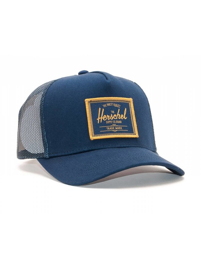 HERSCHEL - WHALER MESH PATCH TRUCKER CAP - Boutique ROOKERY skateshop 1bf28e91e9c