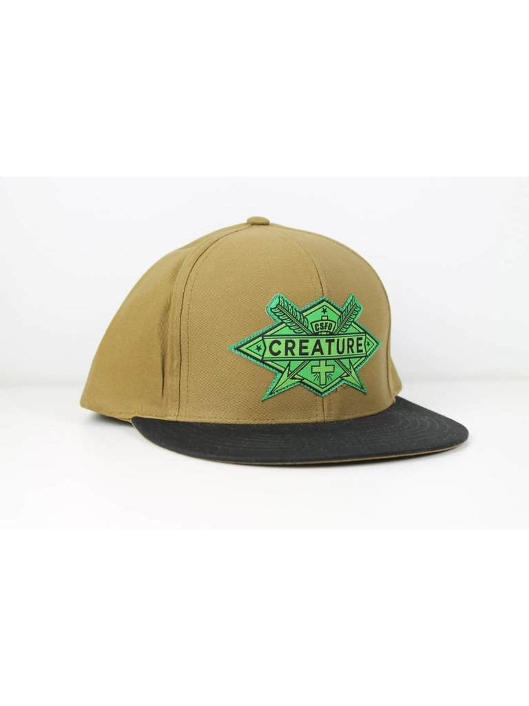 CREATURE - ARROWS SNAPBACK CAP - Boutique ROOKERY skateshop e55c6bf29b3