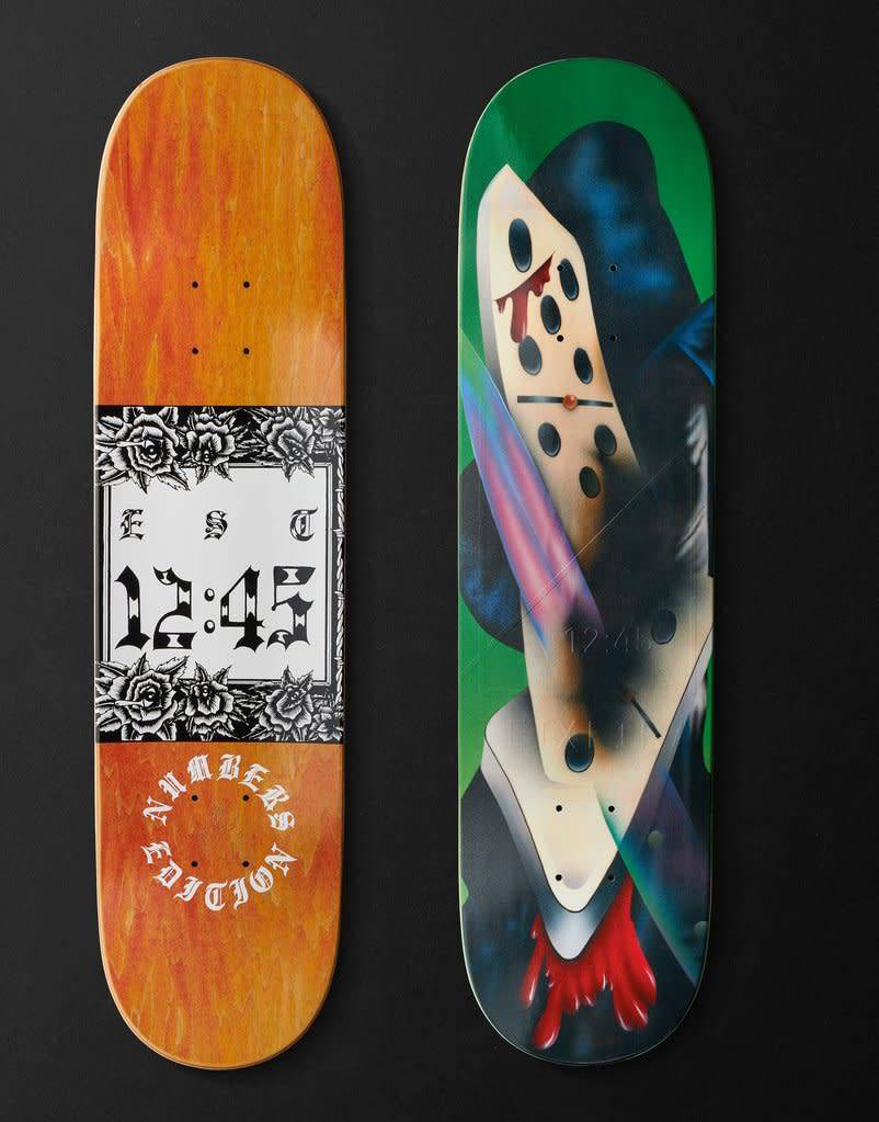 """NUMBERS NUMBERS - EDITION #3 TEIXEIRA 8"""" DECK"""