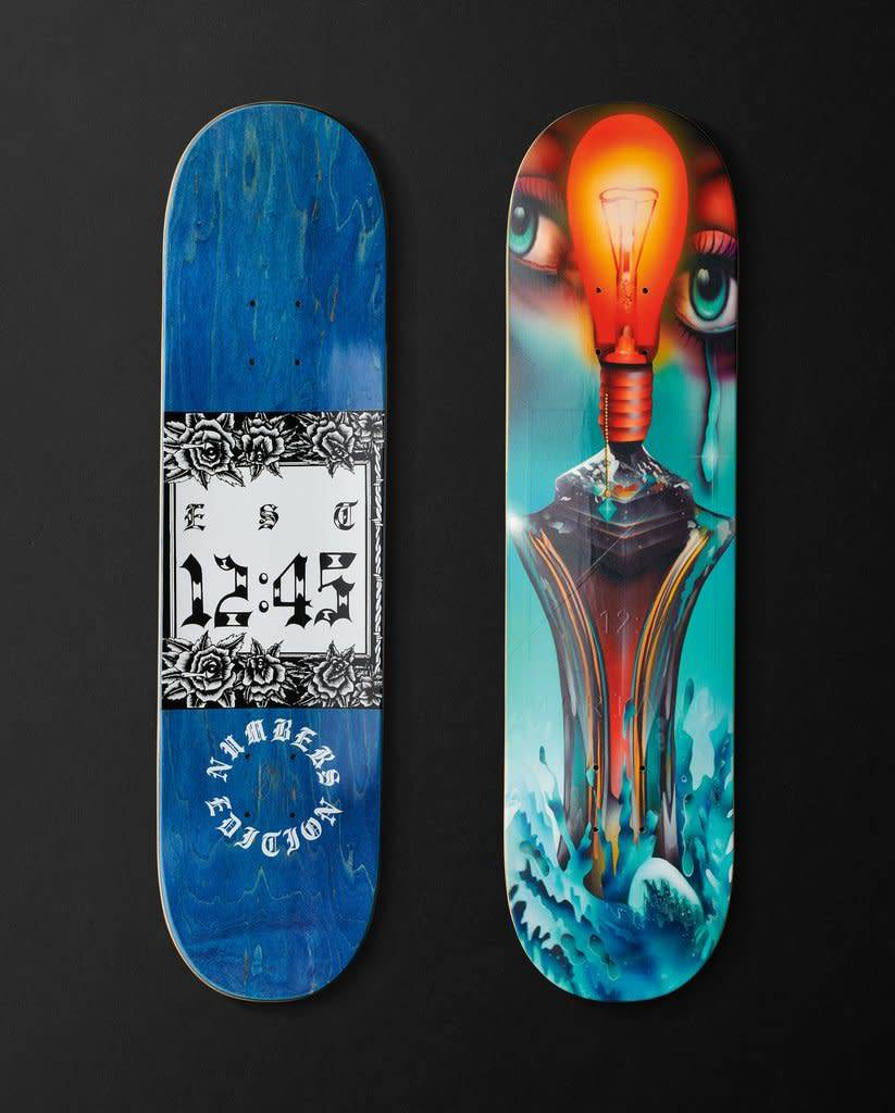 """NUMBERS NUMBERS - EDITION #3 MARIANO 8.125"""" DECK"""
