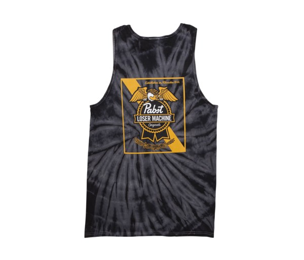 LOSER MACHINE LOSER MACHINE - PABST CONDOR RIBBON TANK TIE DYE