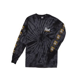 LOSER MACHINE LOSER MACHINE - PABST CONDOR RIBBON LONG SLEEVE TIE DYE