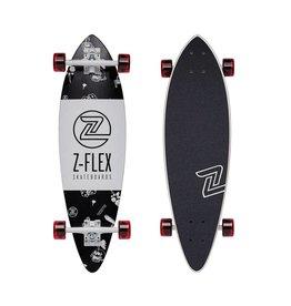 """ZFLEX Z-FLEX - MINI PINTAIL ROLLING BONES 32"""" COMPLETE"""
