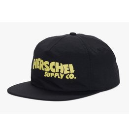 HERSCHEL HERSCHEL - OLIVER NYLON SNAPBACK BLACK