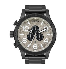 NIXON NIXON - 51-30 CHRONO BLACK/CONCRETE