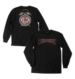 INDEPENDENT INDEPENDENT - THRASHER TIME TO GRIND L/S TEE