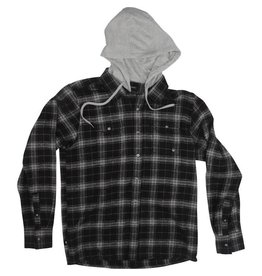 RED DRAGON RDS - CABLE HOODED FLANNEL